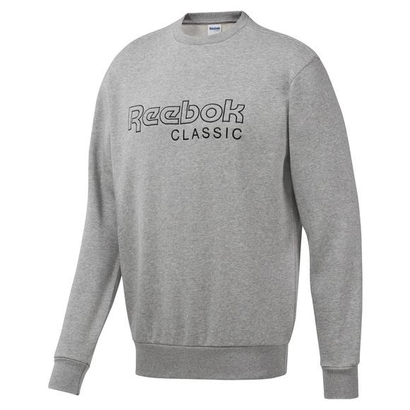 e8dbfb81ed2 REEBOK-CLASSIC Classics - Men s Fleece Crewneck