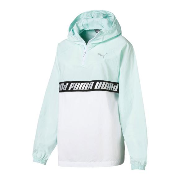 Modern Sports - Women's Anorak-Style Hooded Jacket