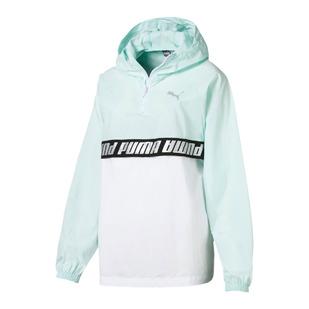 Modern Sports - Manteau à capuchon de style anorak pour femme