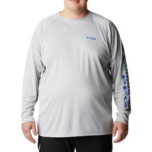 Terminal Tackle (Plus Size) - Men's Long-Sleeved Shirt