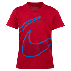 Split Swoosh Y - Boys' T-Shirt
