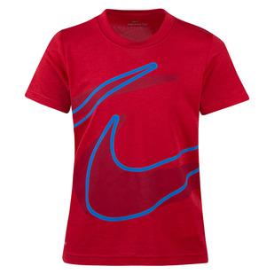 Split Swoosh Y - T-shirt pour petit garçon