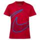 Split Swoosh Y - Boys' T-Shirt  - 0
