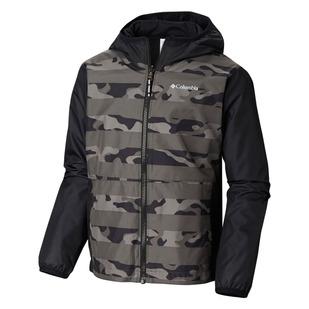 Pixel Grabber - Manteau réversible pour junior