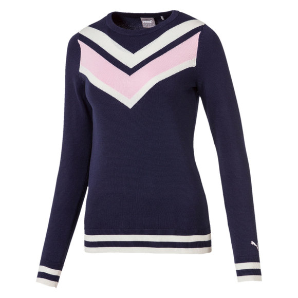 Chevron - Chandail de golf en tricot