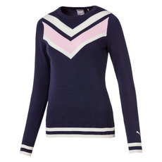 Chevron - Women's Knit Golf Sweater