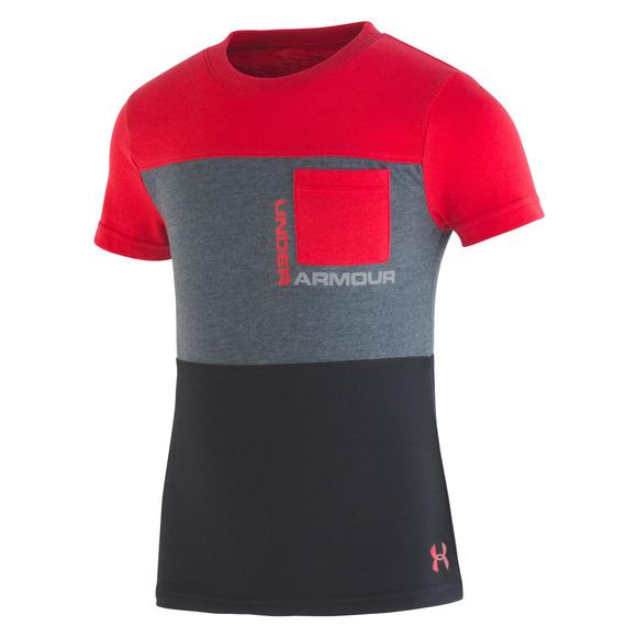 Pieced Pocket Y- T-shirt pour garçon