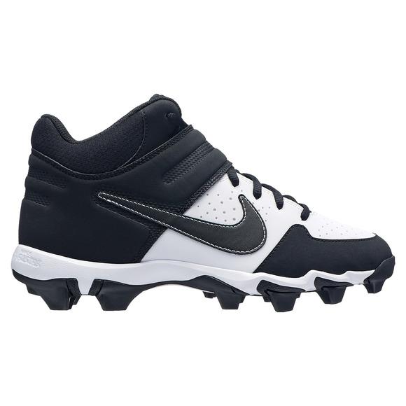 Alpha Huarache Varsity Keystone Mid (GS) Jr - Chaussures de baseball pour junior