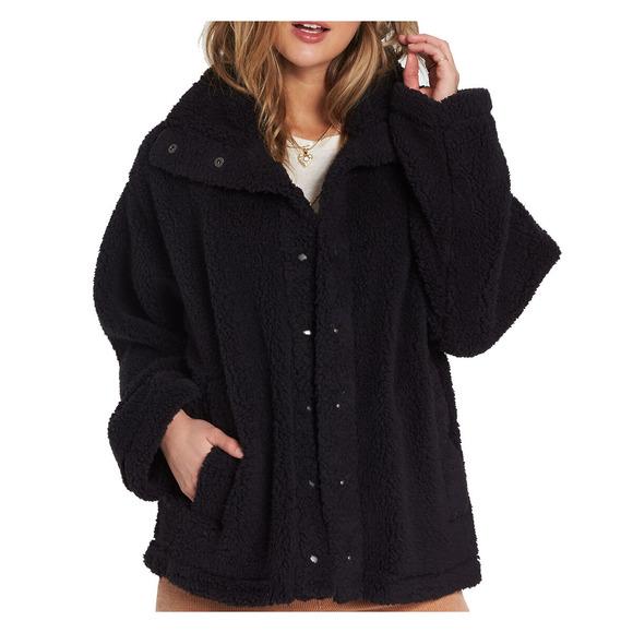 Cozy Days - Women's Polar Fleece Jacket