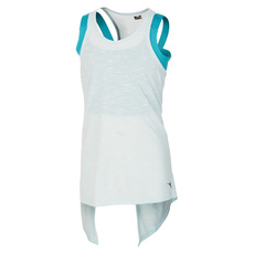 Two layer Studio Jr - Girls' Tank Top With Integrated Sports Bra
