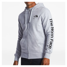 Half Dome - Men's Full-Zip Hoodie