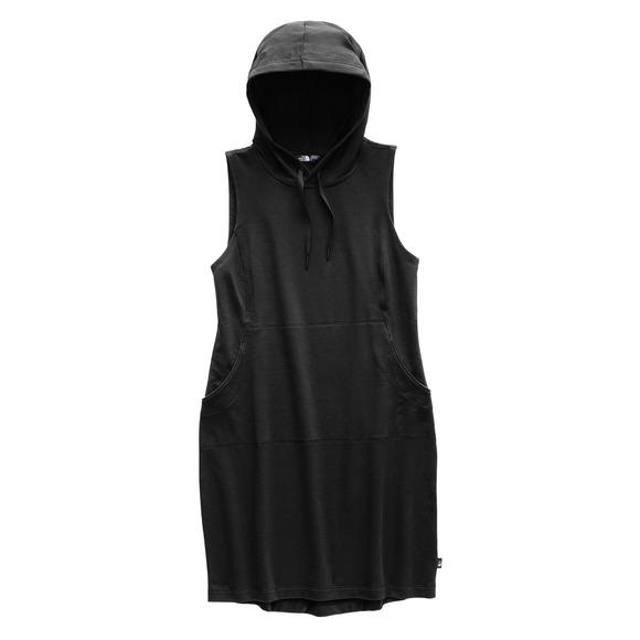 Bayocean - Women's Sleeveless Hooded Dress