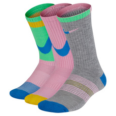 Everyday Crew Jr - Junior Cushioned Socks (Pack of 3 pairs)