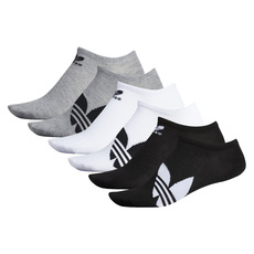 Trefoil No Show - Men's Ankle Socks (Pack of 6)