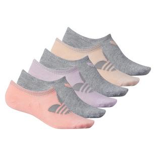 Trefoil Super No Show - Socquettes pour femme (Paquet de 6 paires)