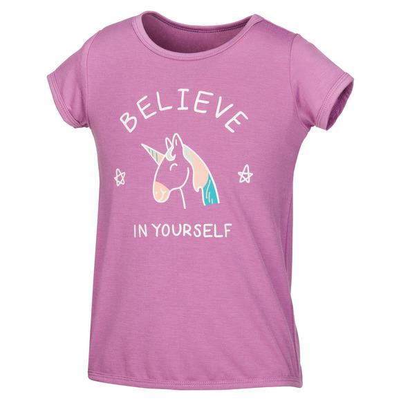 Tie Back Graphic K - Little Girls' T-Shirt