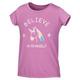 Tie Back Graphic K - Little Girls' T-Shirt - 0