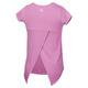 Tie Back Graphic K - Little Girls' T-Shirt - 1