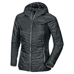 Zinder III - Manteau isolé à capuchon pour femme