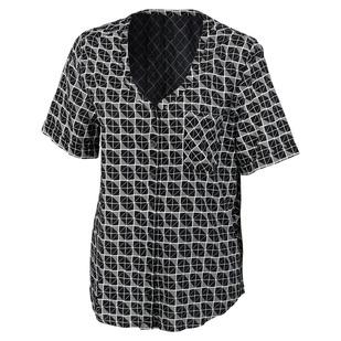Coral - Women's Short-Sleeved Shirt