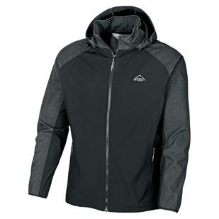 Trundle II - Manteau softshell à capuchon pour homme