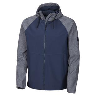 Tumut II - Manteau softshell à capuchon pour homme