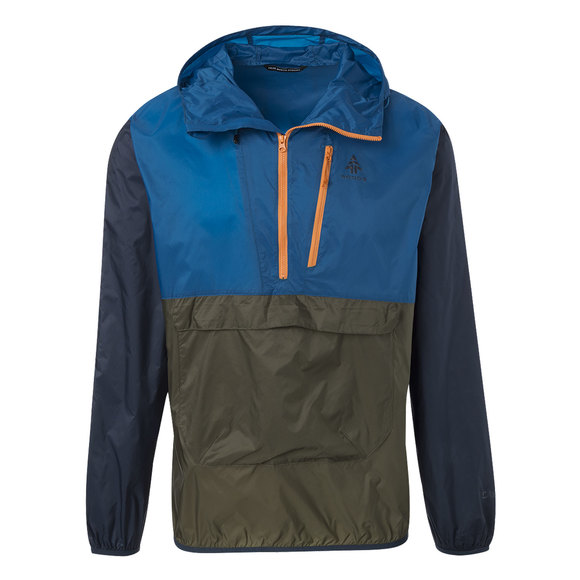 Stanley Pop-Over - Men's Anorak-Style Hooded Jacket
