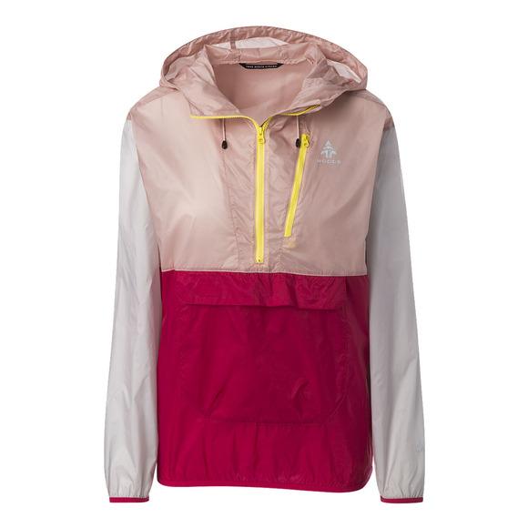 Stanley - Manteau à capuchon de style anorak pour femme