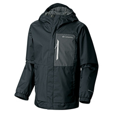 Splash More Jr - Boys' Hooded Rain Jacket