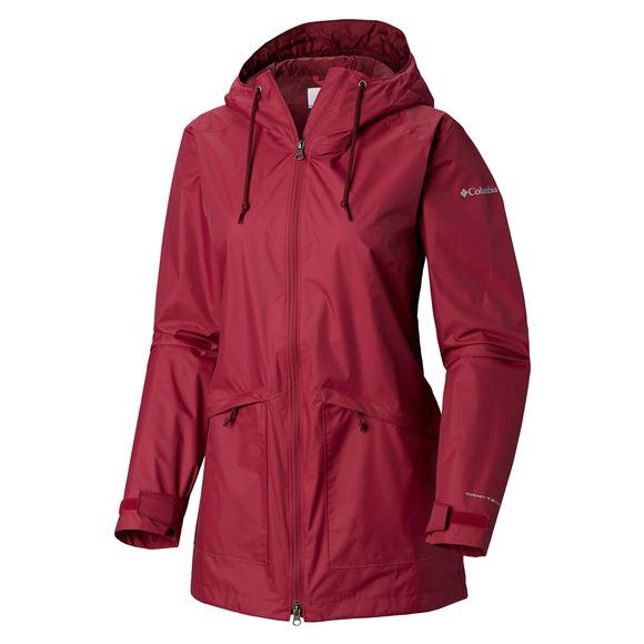 vendu dans le monde entier magasiner pour authentique matériaux de qualité supérieure COLUMBIA Arcadia - Manteau à capuchon pour femme