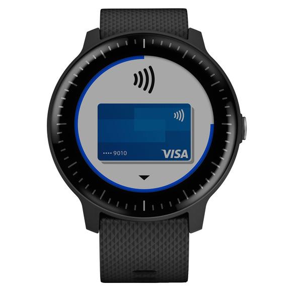 Vivoactive 3M - Montre intelligente GPS avec moniteur de fréquence cardiaque au poignet