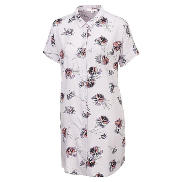 Paradise Floral - Women's Shirt Dress