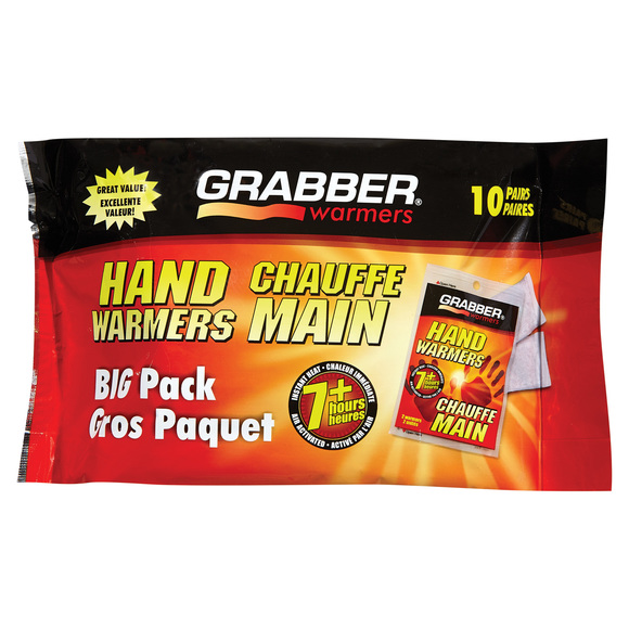 Hand warmer pack -Chauffe mains