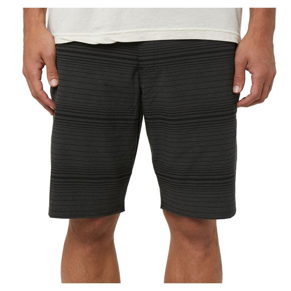 Locked Stripe - Men's Hybrid Shorts