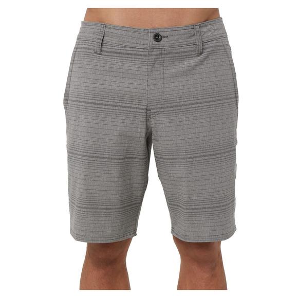 Locked Stripe - Short hybride pour homme