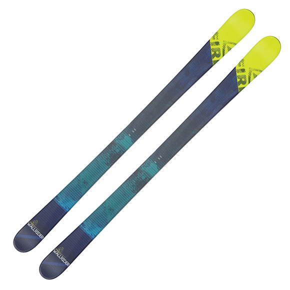 Wallrider - Skis alpins Freestyle à double spatule pour adulte