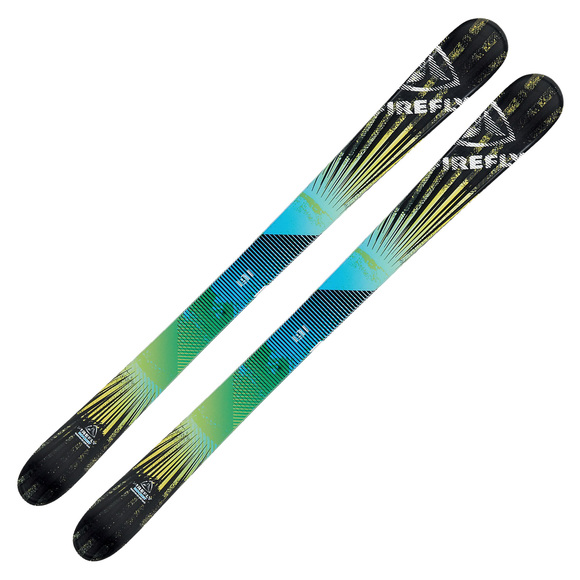 Rocket Jr - Skis alpins Freestyle à double spatule pour junior