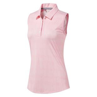 Ultimate 365 - Polo de golf sans manches pour femme
