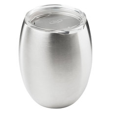 Glacier - Stainless double wall wine glass