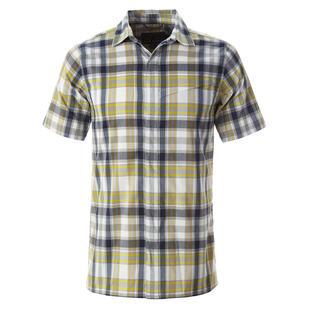 Monument Plaid - Men's Short-Sleeved Shirt