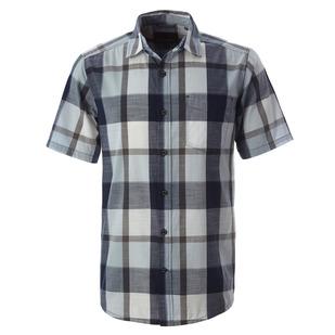 Sawtooth Plaid - Chemise à manches courtes pour homme