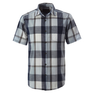 Sawtooth Plaid - Men's Short-Sleeved Shirt