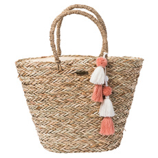 Shorelines Straw - Tote Bag