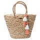 Shorelines Straw - Tote Bag - 0