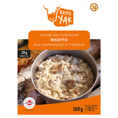 Cheese and Mushroom Risotto - Dehydrated Food