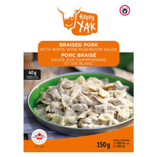 Braised Pork with White Wine Mushroom Sauce - Dehydrated Food