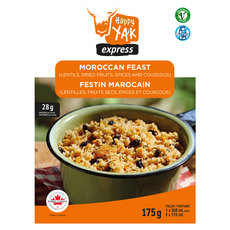 Moroccan Couscous and Lentils - Dehydrated Food