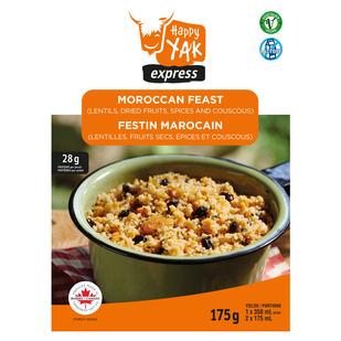 Festin marocain (couscous et lentilles) - Nourriture déshydratée