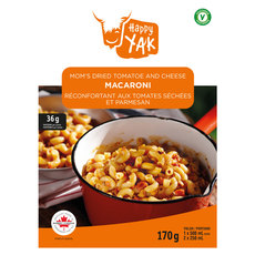 Macaroni with Tomato Sauce and Parmesan - Dehydrated Food