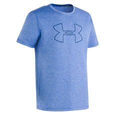 UA Heather Y - Boys' Rashguard